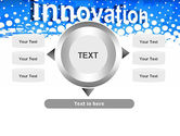 Innovation Button PowerPoint Template#12