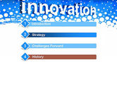 Innovation Button PowerPoint Template#3