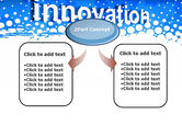Innovation Button PowerPoint Template#4