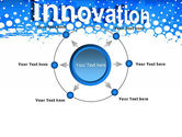 Innovation Button PowerPoint Template#7
