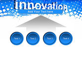 Innovation Button PowerPoint Template#8