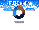 Innovation Button PowerPoint Template#9