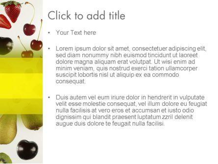 Alkaline Food PowerPoint Template, Slide 3, 13323, Food & Beverage — PoweredTemplate.com