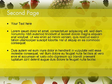 Alkaline Food PowerPoint Template Slide 2