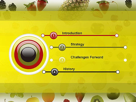 Alkaline Food PowerPoint Template Slide 3