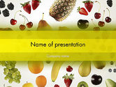 Food & Beverage: Alkaline Food PowerPoint Template #13323