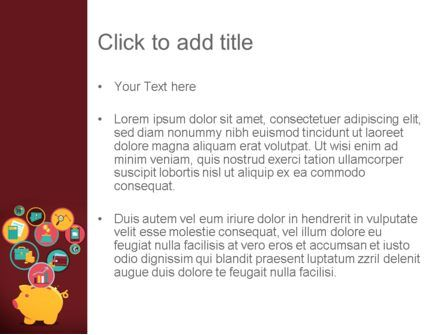 Financial Application PowerPoint Template, Slide 3, 13324, Financial/Accounting — PoweredTemplate.com