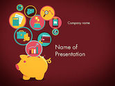Financial/Accounting: Financial Application PowerPoint Template #13324