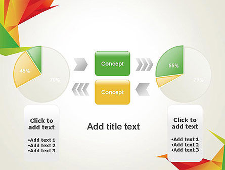 Origami Abstract Triangles PowerPoint Template Slide 11