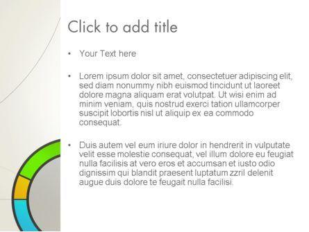 Abstract Chart Style PowerPoint Template, Slide 3, 13332, Business — PoweredTemplate.com