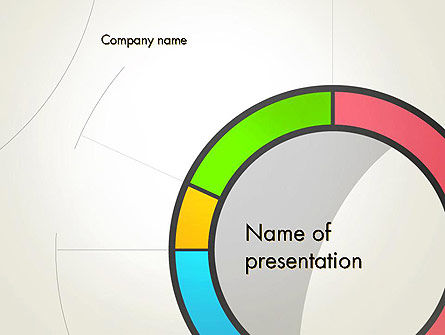 Abstract Chart Style PowerPoint Template