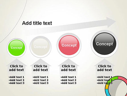 Abstract Chart Style PowerPoint Template Slide 13