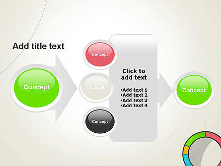 Abstract Chart Style PowerPoint Template Slide 17