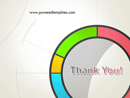 Abstract Chart Style PowerPoint Template Slide 20