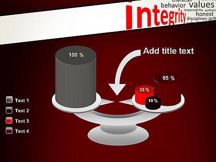 Integrity Word Cloud PowerPoint Template Slide 10