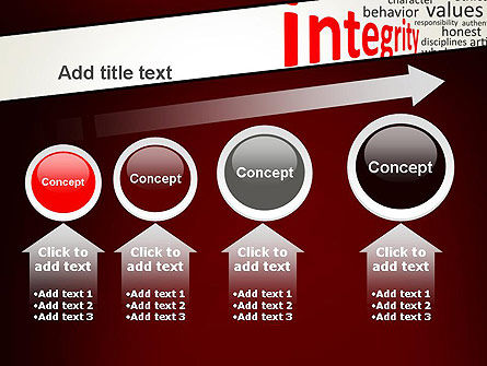 Integrity Word Cloud PowerPoint Template Slide 13