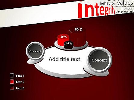 Integrity Word Cloud PowerPoint Template Slide 16