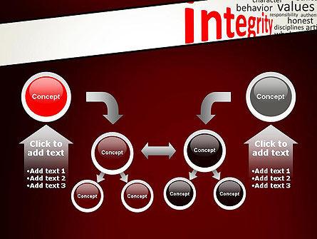 Integrity Word Cloud PowerPoint Template Slide 19