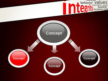 Integrity Word Cloud PowerPoint Template Slide 4