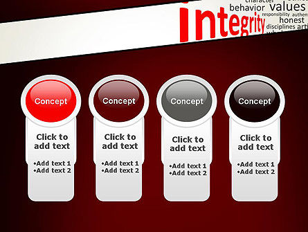 Integrity Word Cloud PowerPoint Template Slide 5