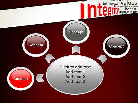 Integrity Word Cloud PowerPoint Template Slide 7