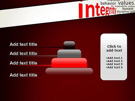 Integrity Word Cloud PowerPoint Template Slide 8
