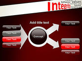 Integrity Word Cloud PowerPoint Template#14