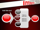 Integrity Word Cloud PowerPoint Template#17