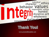 Integrity Word Cloud PowerPoint Template#20