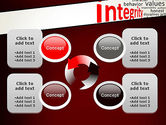 Integrity Word Cloud PowerPoint Template#9