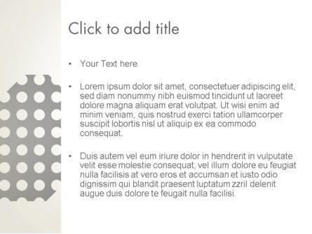 Dotty PowerPoint Template, Slide 3, 13334, Abstract/Textures — PoweredTemplate.com