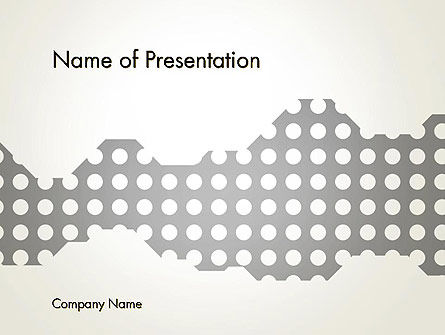 Abstract/Textures: Dotty PowerPoint Template #13334