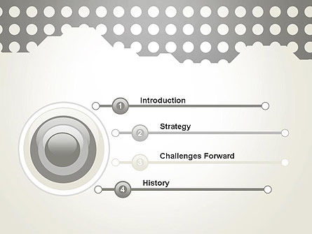 Dotty PowerPoint Template Slide 3