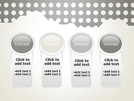 Dotty PowerPoint Template Slide 5
