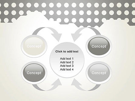 Dotty PowerPoint Template Slide 6