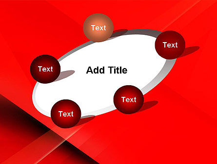 Overlapping Red Layers PowerPoint Template Slide 14