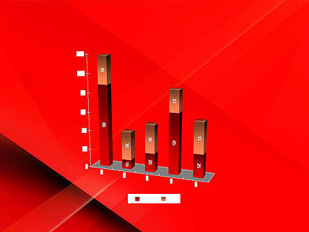 Overlapping Red Layers PowerPoint Template Slide 17