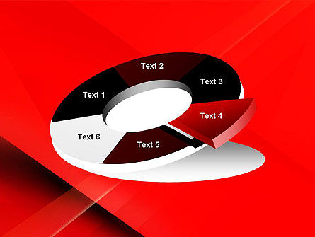 Overlapping Red Layers PowerPoint Template Slide 19