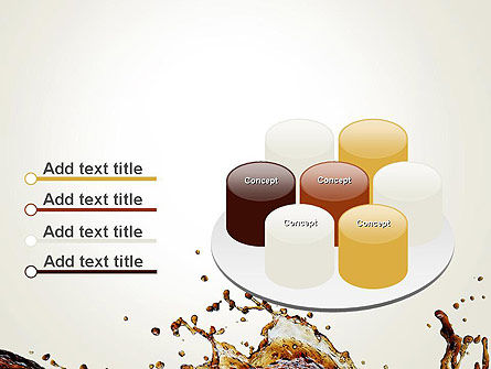 Cola Splash PowerPoint Template Slide 12