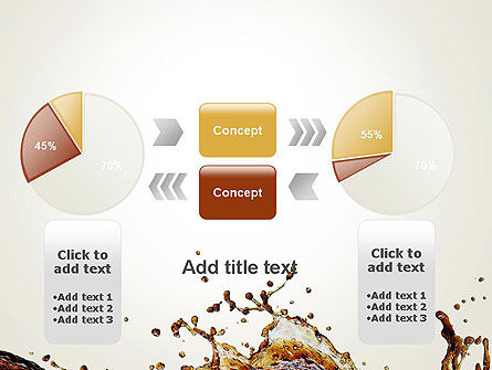 Cola Splash PowerPoint Template Slide 16