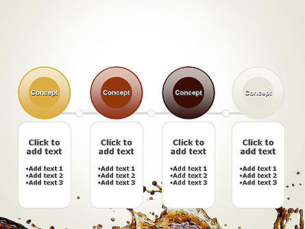 Cola Splash PowerPoint Template Slide 5