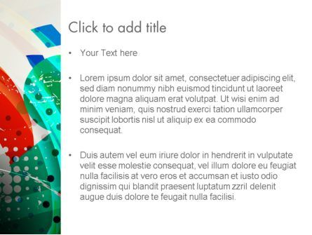 Stir Colored Layers Abstract PowerPoint Template, Slide 3, 13343, Art & Entertainment — PoweredTemplate.com