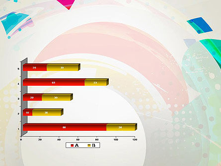Stir Colored Layers Abstract PowerPoint Template Slide 11