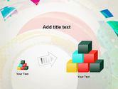 Stir Colored Layers Abstract PowerPoint Template#13