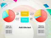 Stir Colored Layers Abstract PowerPoint Template#16