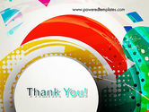 Stir Colored Layers Abstract PowerPoint Template#20