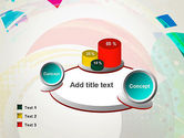 Stir Colored Layers Abstract PowerPoint Template#6