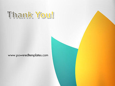 Two Petals Abstract PowerPoint Template Slide 20