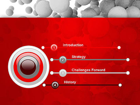 Flying Spheres PowerPoint Template, Slide 3, 13346, 3D — PoweredTemplate.com