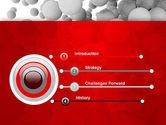 Flying Spheres PowerPoint Template#3